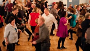 Dancers at The Darvel Burns Ceilidh