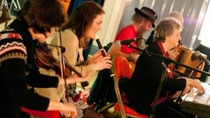 The Tattiehowkers Ceilidh Band at Darvel Burns Ceilidh